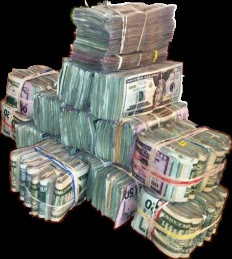 Bandz bands racks dinero. Stacks of money png