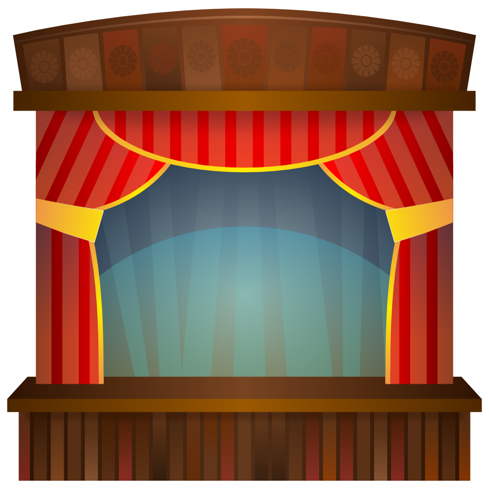 staircase clipart stage