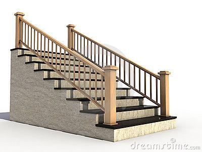 Handrail . Staircase clipart