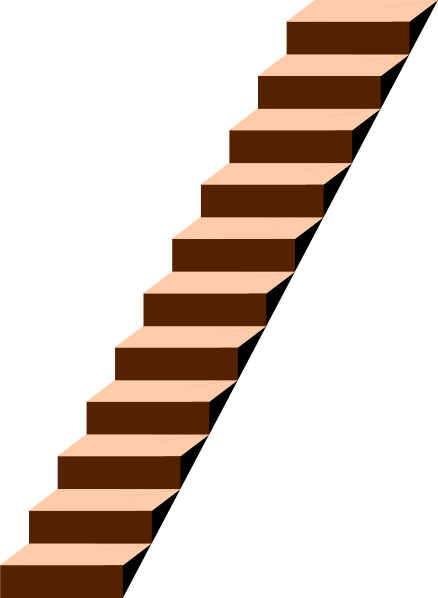 Free stairs cliparts download. Staircase clipart animated