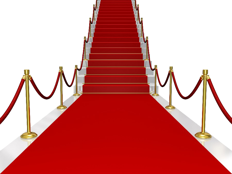 Staircase clipart broken. Red carpet png free