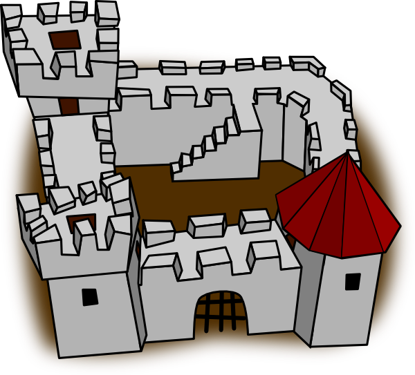 Role playing map clip. Staircase clipart castle