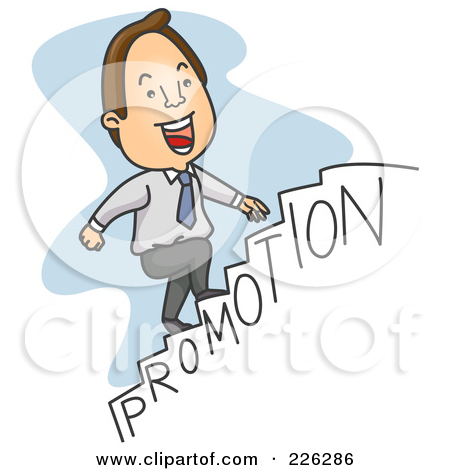 Staircase clipart job promotion.  clipartlook