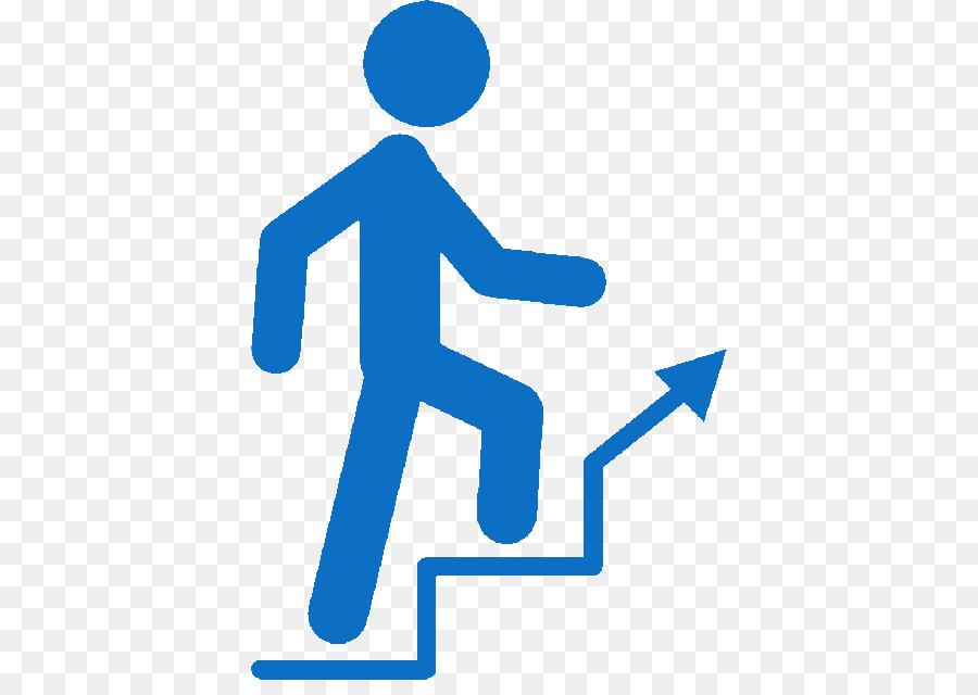 Hand cartoon blue text. Staircase clipart next step