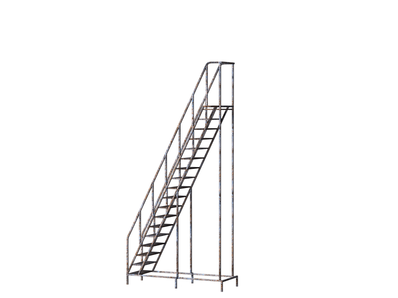 Staircase clipart outline.  best stairs mettalic