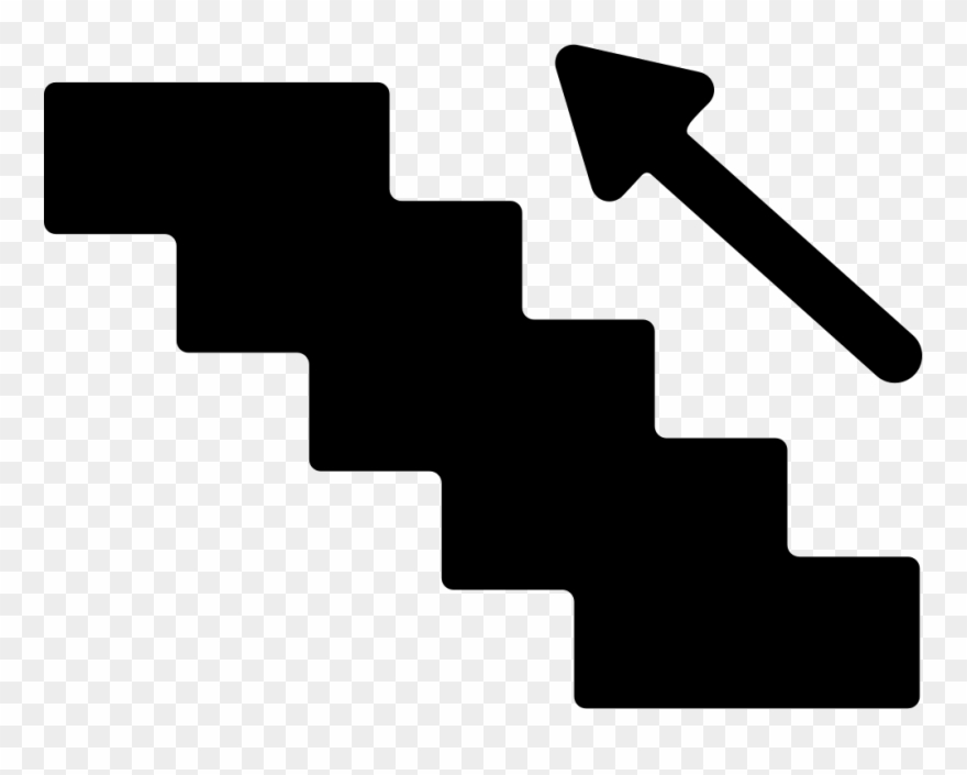 Stairs png picture download. Staircase clipart silhouette