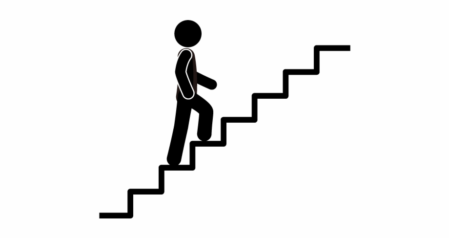 Staircase clipart silhouette. Clip transparent library stair