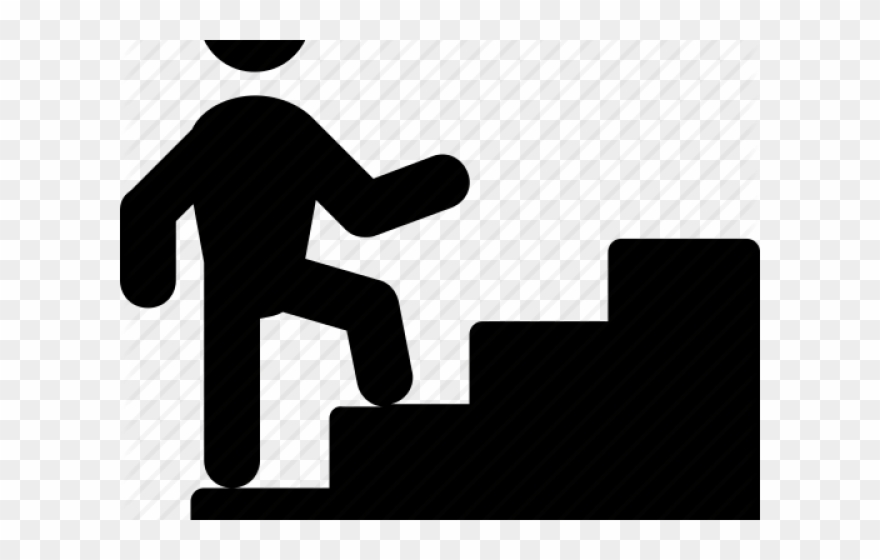 Stairs png download pinclipart. Staircase clipart silhouette
