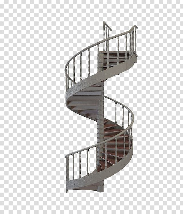 Gray stairs cinema d. Staircase clipart spiral staircase
