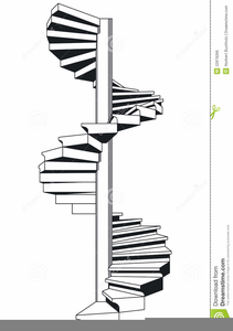 Staircase clipart spiral staircase. Free images at clker