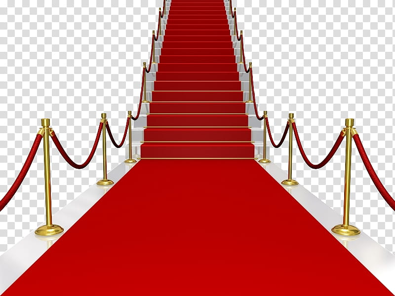 Red carpet byuncamis and. Staircase clipart stage