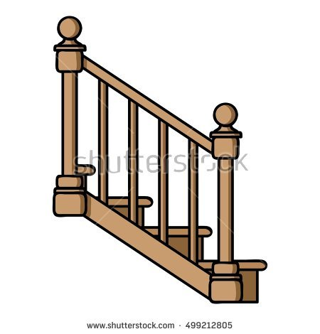Staircase clipart stair rail. Free download best on
