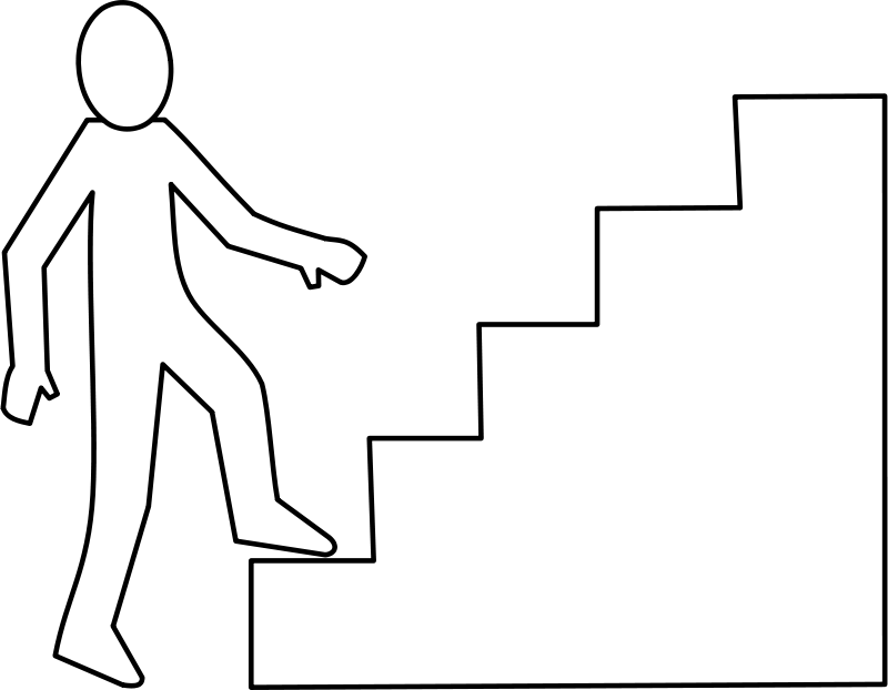 Staircase clipart staircase side view.  huge freebie download