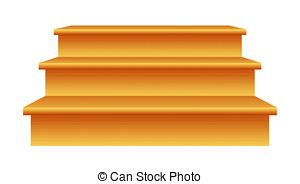 Wooden steps clip art. Staircase clipart step