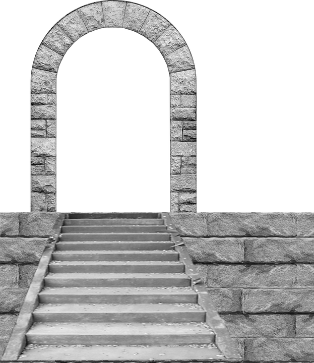 Staircase clipart stone stair. Forgetmenot arches publicat de