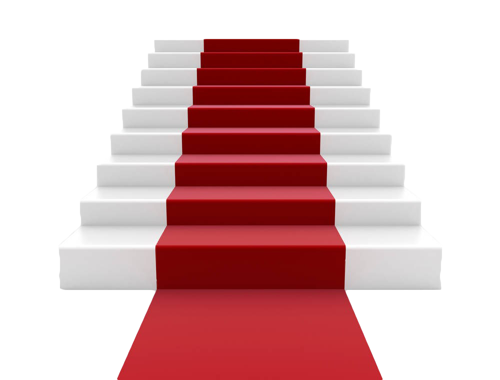 Clip art red carpet. Staircase clipart stone stair
