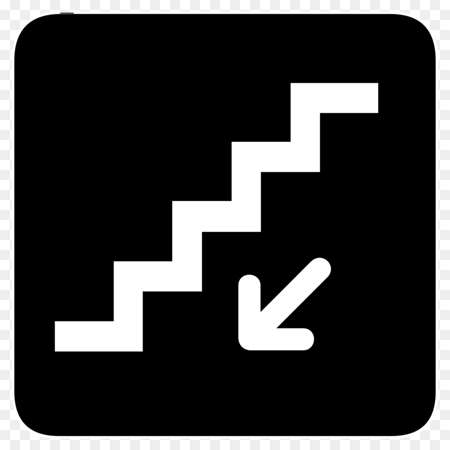 Down stairs staircases clip. Staircase clipart symbol