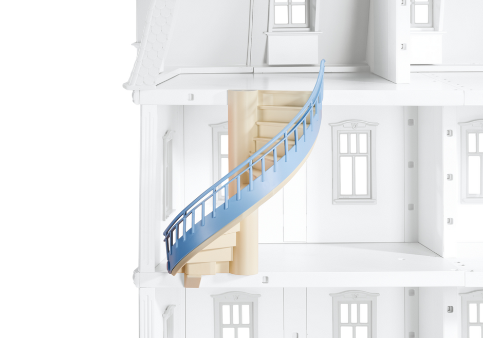 Spiral for deluxe dollhouse. Staircase clipart winding staircase