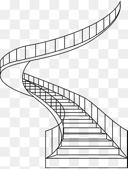 Spiral png vectors psd. Staircase clipart winding staircase