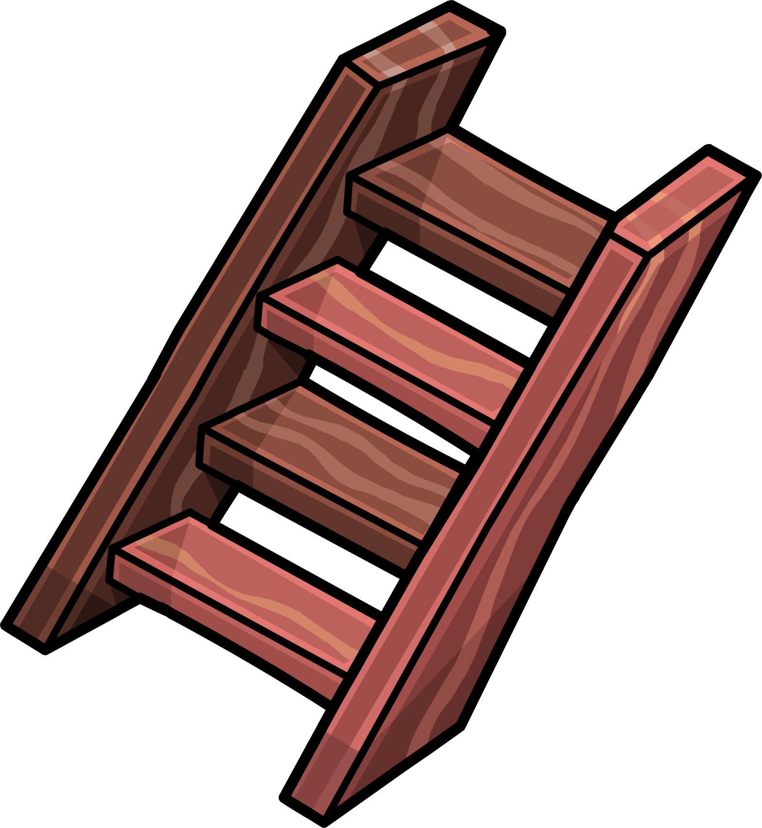 Steps club penguin wiki. Staircase clipart wooden stair