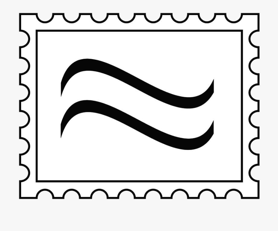 Stamped letter . Envelope clipart stamp clip art
