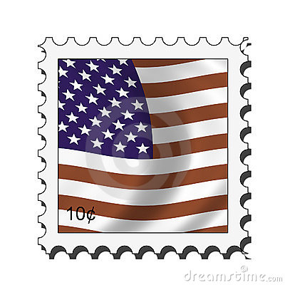 Us postage . Stamp clipart