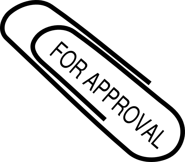 For Approval Clip Art at Clker