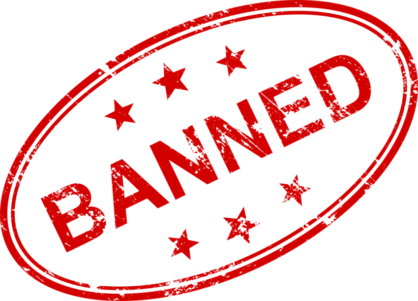 Stamp clipart banned. Png free images toppng