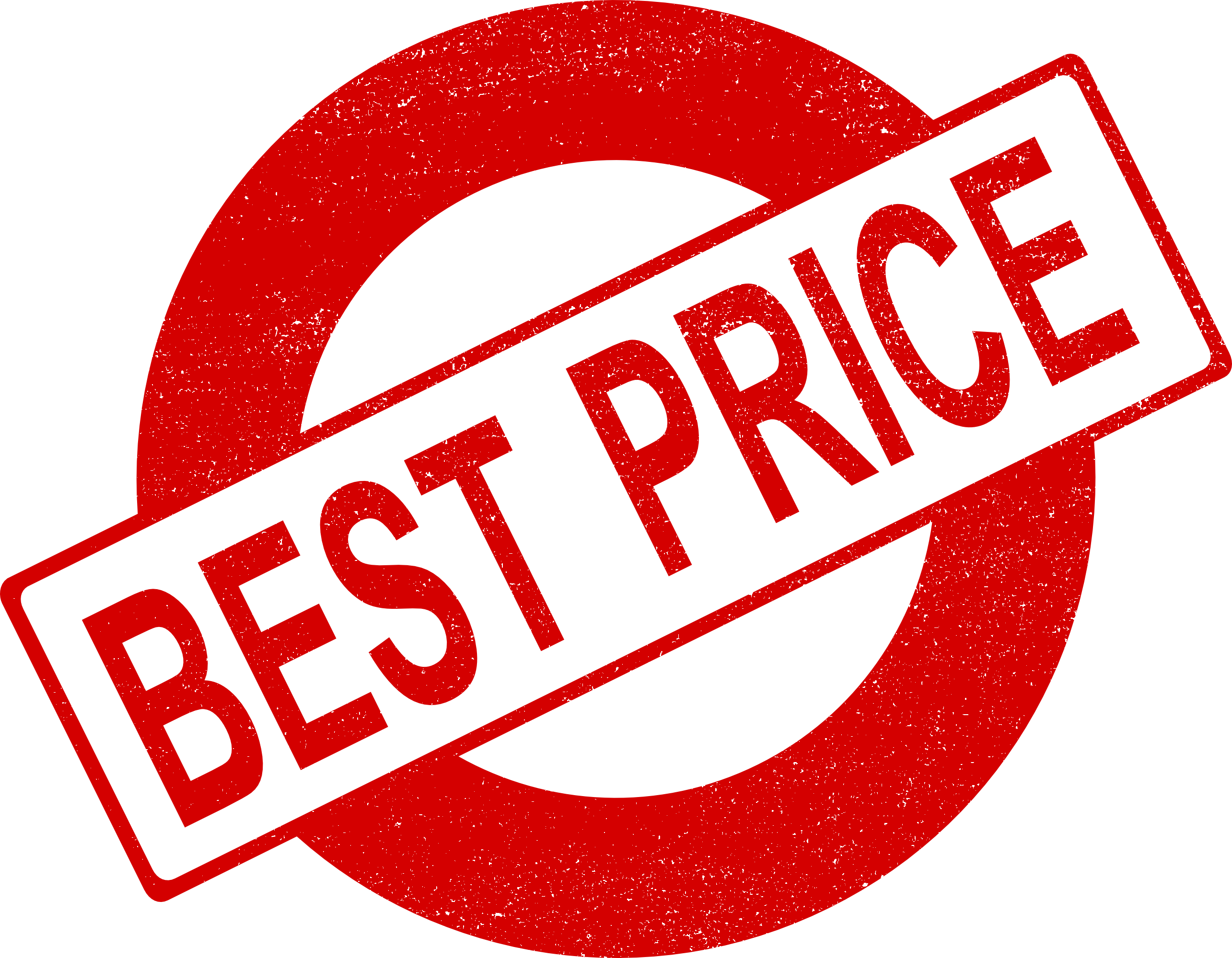best price vector. Stamp clipart banned