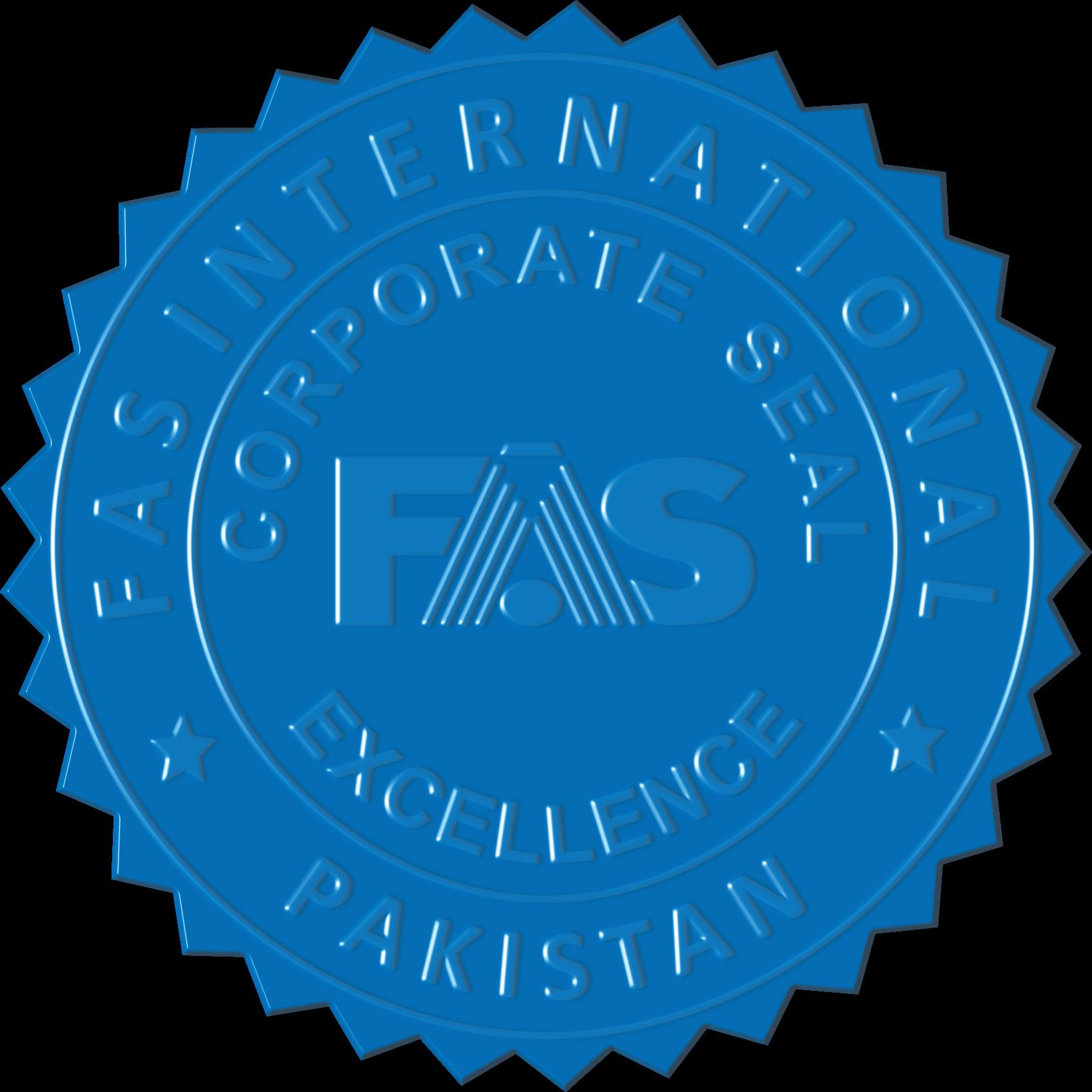 Verification fas international pakistan. Stamp clipart certification