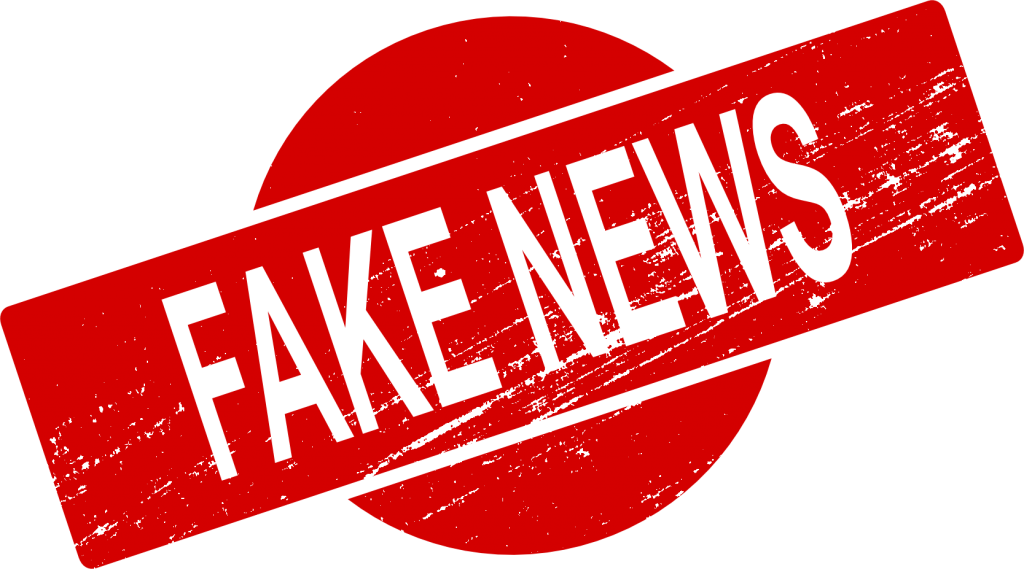 Stamp clipart classified.  fake news vector