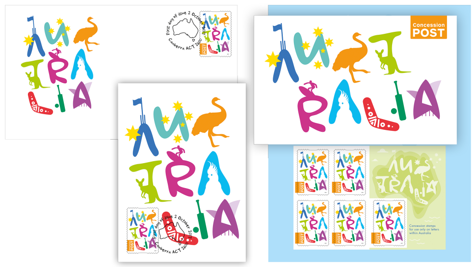 Stamp clipart collector. New concession released australia