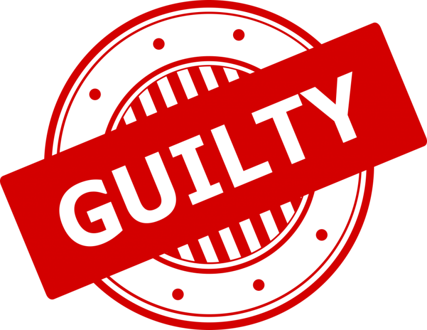 Stamp clipart guilty. Png free images toppng