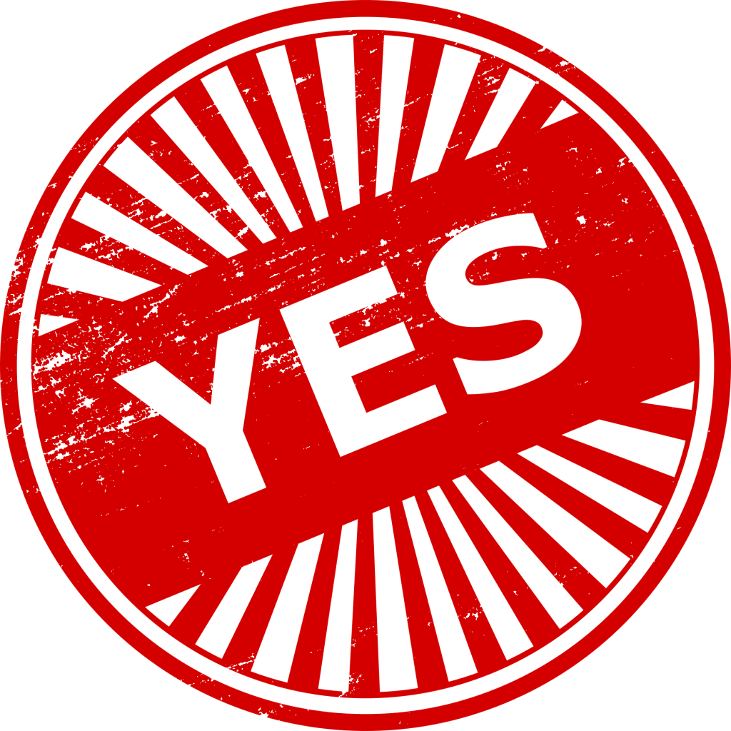 yes no png. Stamp clipart guilty