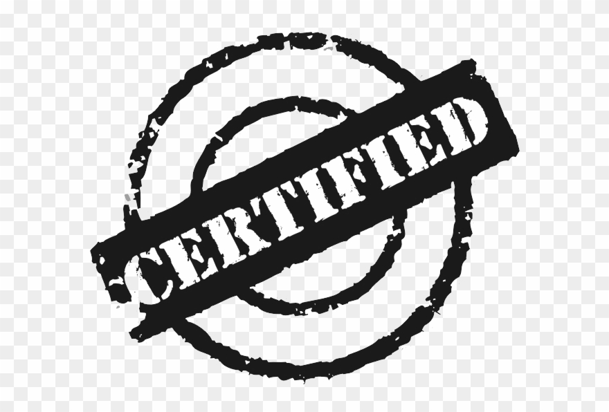 Certified png approved . Stamp clipart icon