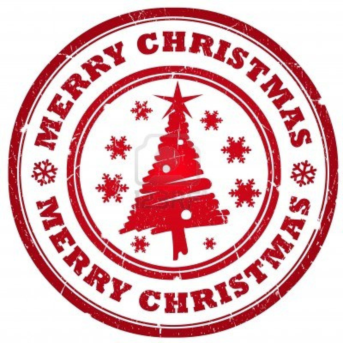 Stock photo make it. Stamp clipart merry christmas