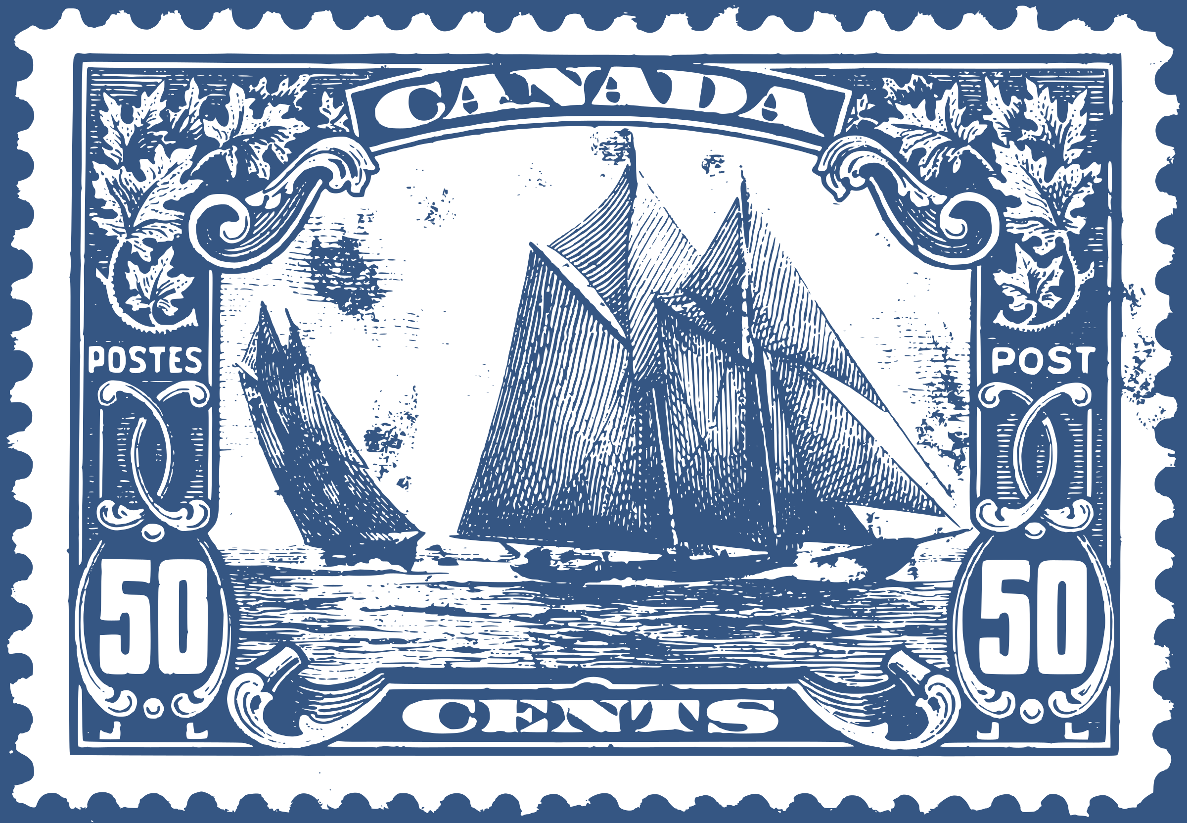 Stamp clipart post stamp. Bluenose canadian icons png