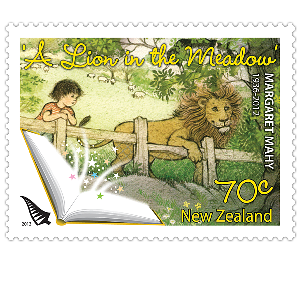 Margaret mahy new zealand. Stamp clipart postage stamp