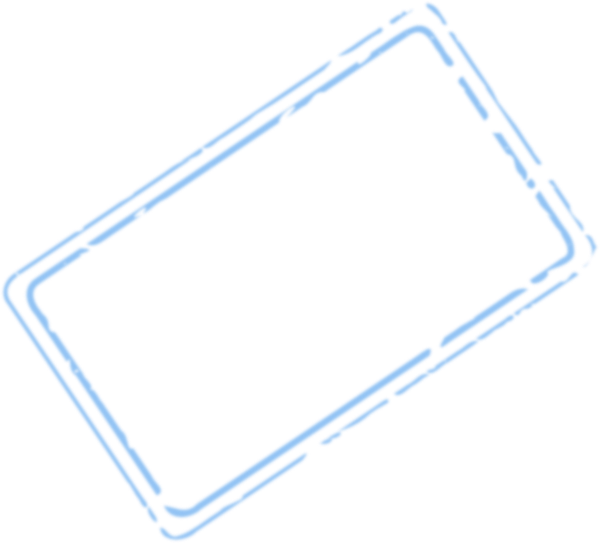 Stamp clipart rectangle. Blue clip art at