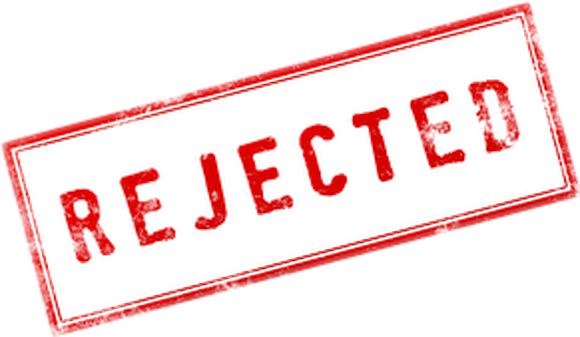 Stamp clipart rejection. Rejected freetoedit sticker by
