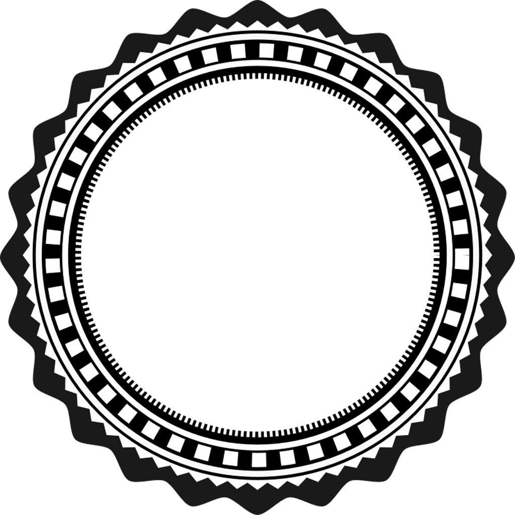 Stamp clipart round. Remixit png transparent circle