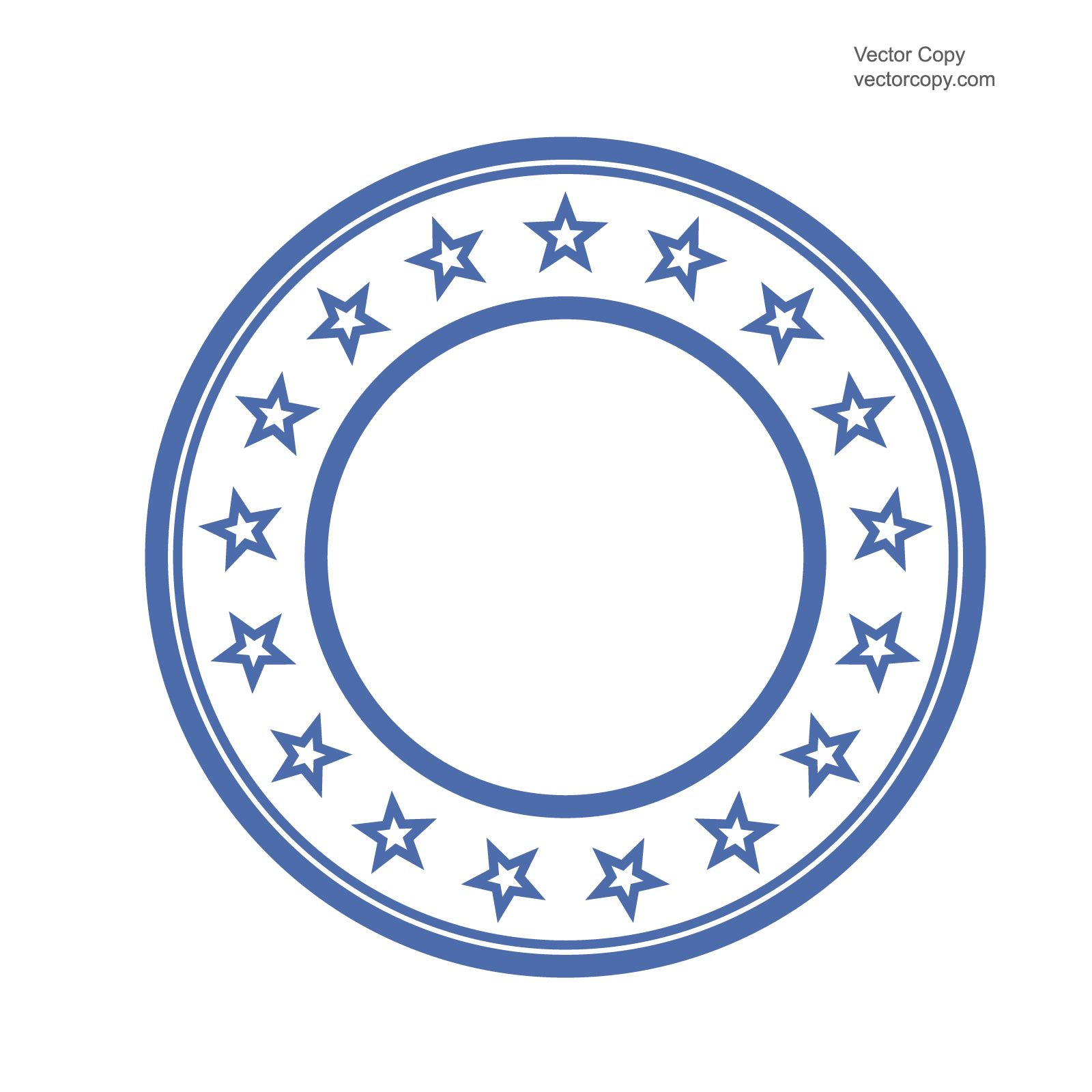 Stamp clipart round. Blank template of free