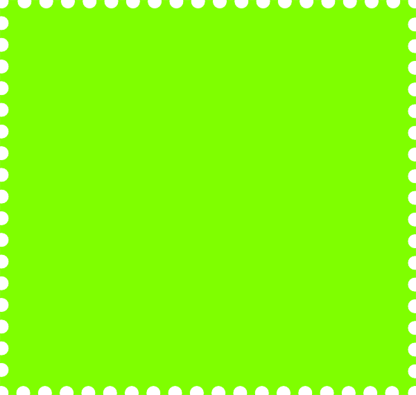Green clip art at. Stamp clipart square