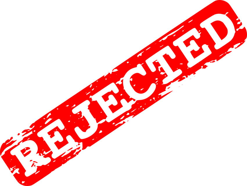 Red rejected png free. Stamp clipart transparent background