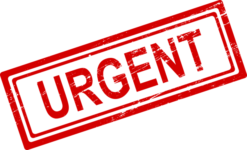 Stamp clipart urgent. Png free images toppng