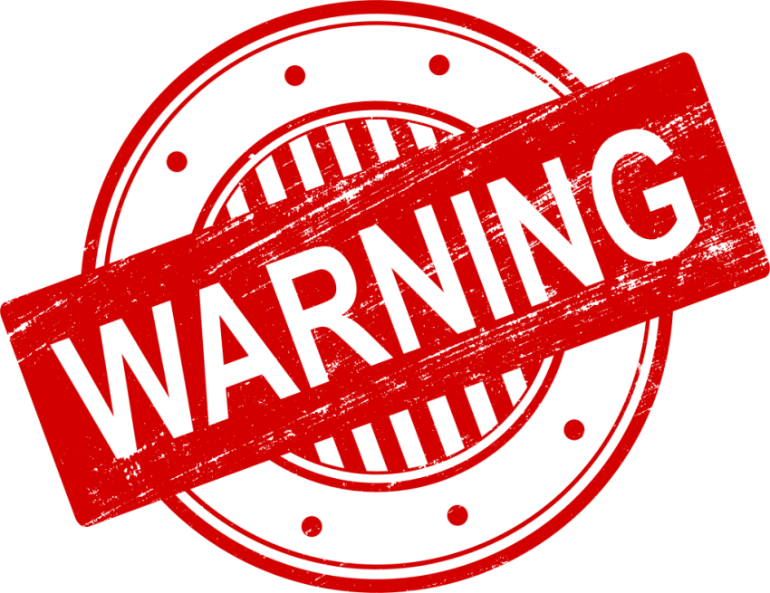 Stamp clipart warning. Png free images toppng
