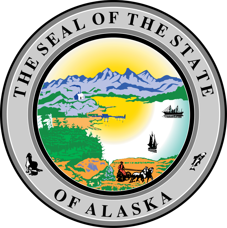 Alaska home complete appliance. Stamp clipart warranty