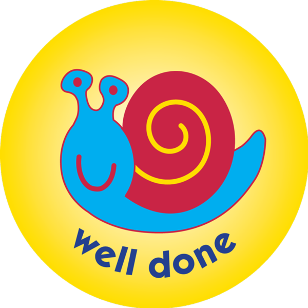 Stamp clipart well done. Snail pack of mm