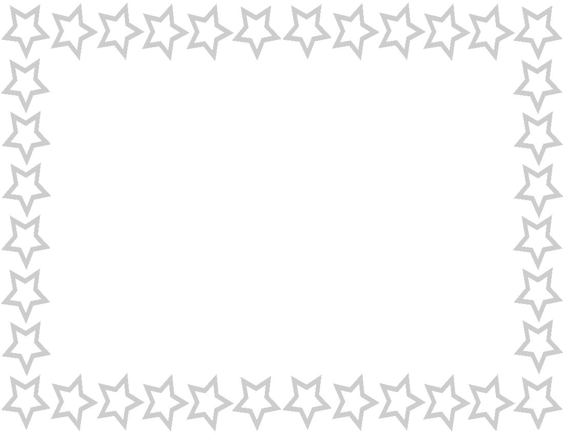 Star border png. Page blue frames download