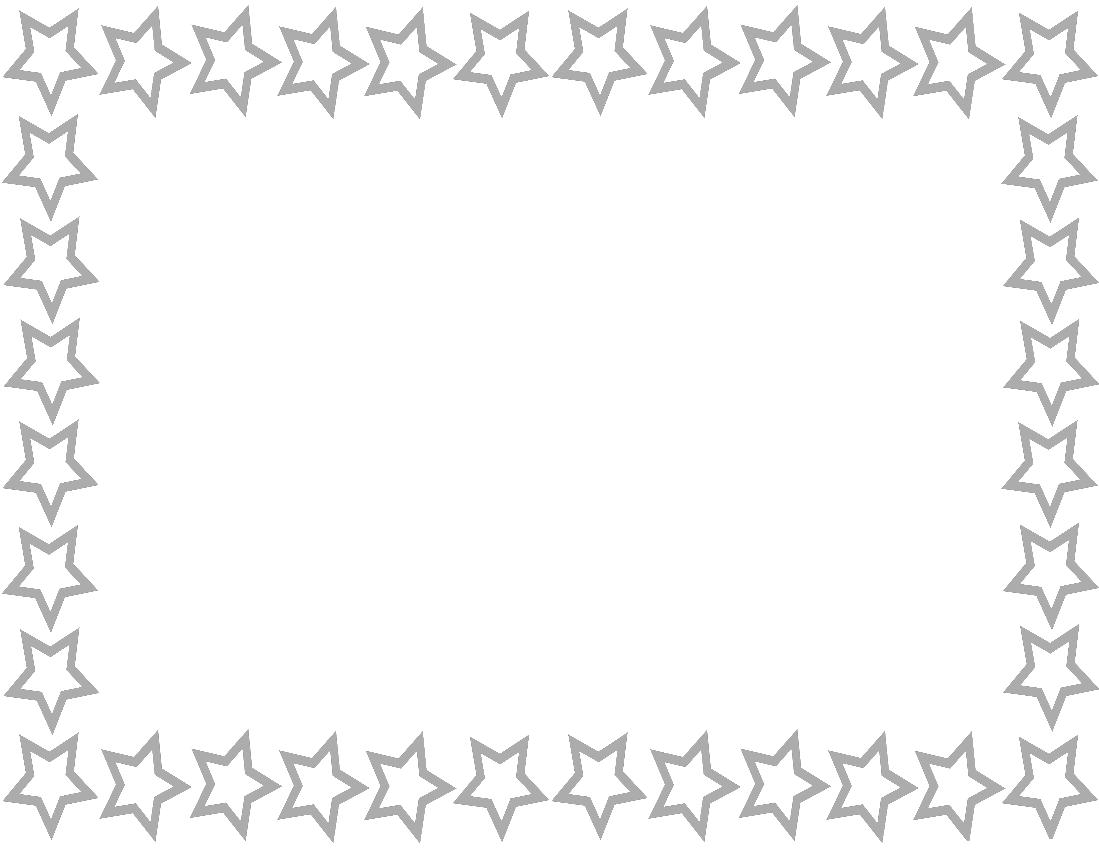 Page green frames download. Star border png
